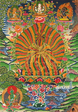 The three bodies of Mahayana Buddhism